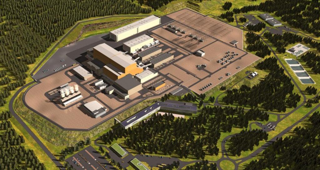 ITER : vue du chantier